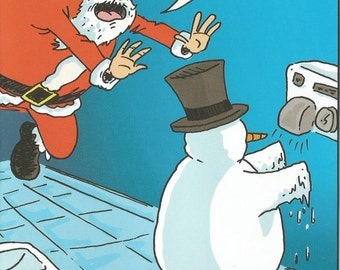 More Coveted than a Golden Goose & a Better Doctor than Dr. Seuss! (Christmas Card for Doctor)