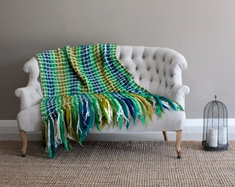 Wool sofa blanket, super bulky blanket, wool throw, merino wool blanket, oversized blanket, chunky yarn blanket, wool blanket throw