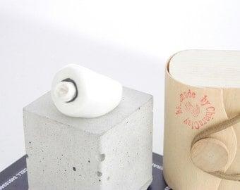 porcelain rose ring