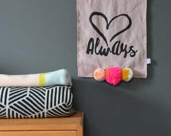 Always - Linen banner
