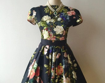 Amazing  Wedding Dress ,1950s prom dress,50s bridesmaid dress, party dress, pinup tea party dress, graduation