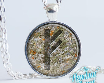 Rune Pendant Elder Futhark Necklace Norse Rune Jewelry, Germanic Pendant, Viking Pendant
