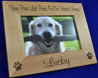 Pet Loss Frame ~ Dog Frame ~ Pet Loss Gift ~ Engraved Frame ~ Loss Of Pet Frame ~ Loss Of Cat Gift ~ Pet Picture Frame ~ Gift For Pet Loss ~