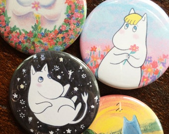 Moomin Button Set