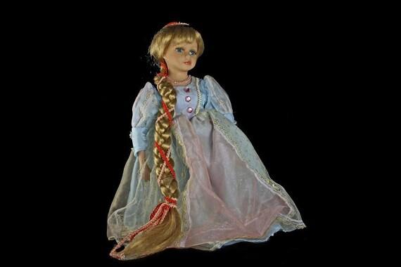 Porcelain Doll, Dan Dee Collector's Choice, Rapunzel
