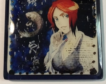 The Red Hair Girl and the Koi