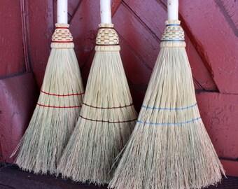 Sweeper Broom with Fir Handle