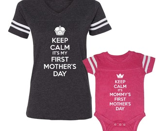 Queen & Princess Mommy Matching Mother by MamaBearDesignCo ...