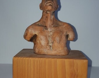 Untitled male bust
