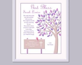 Christening Gift For Girls - Baptism Gift - Baby Dedication Gift - Naming Day Gift - Christening Keepsake - Baptism Keepsake - Catholic