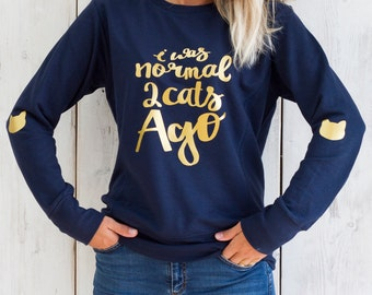Funny Cat Sweater - Gift for Women - Funny sweatshirts - Gift for best friend - Cat Gifts - Gifts for Cat lovers