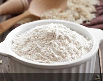 Premium Rice Flour - Aged Himalayan BASMATI RICE FLOUR  Fresh Non GMo All Natural