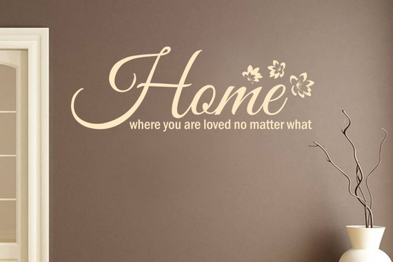 You Are Loved You Are Important And You Matter Pictures: Home Where You Are Loved No Matter What Family Wall