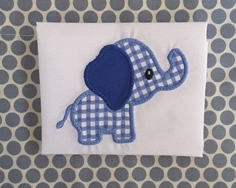 Baby Applique Machine Embroidery Design Elephant