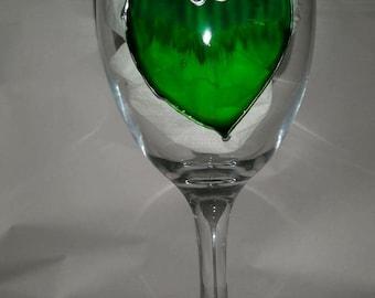 Heart Wine Glass