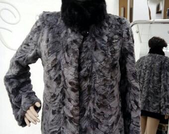 SALE!NEW!!!Natural Real Mink  fur jacket!  Шуба из Норки!