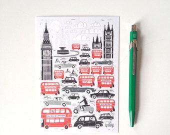 Art Postcard, Illustration, Affordable Art, Greeting Card, Modern Stationery, Gift Ideas