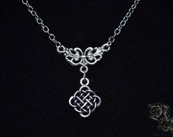"Necklace ""The Celtic Walker"" - minimalist version"