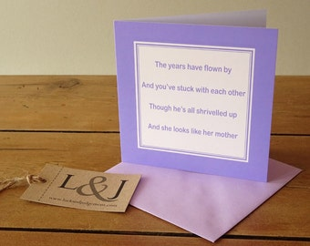 Anniversary Humor - Friend Anniversary - Funny Anniversary - Anniversary Card -  Funny Love Card - Anniversary Cards - Funny Card - Cards