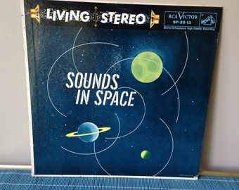 Sounds in Space LP vintage record fifties stereophonic rite of spring 1958 mid century music