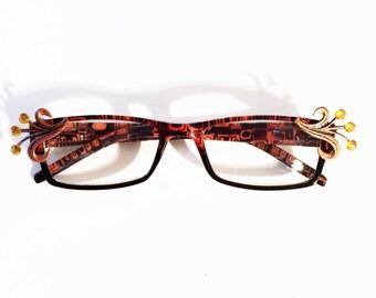 Bling Reading Glasses, +3.00,