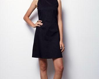Black Dress,  tank dress, Sleeveless Dress - Luna