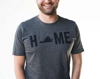 T-Shirt - Virginia HOME Men's Tee