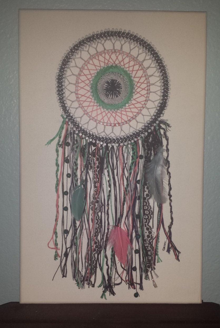 String Art Bohemian Dreamcatcher
