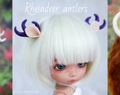 Commission: Rheindeer antlers and tail. All BJD sizes