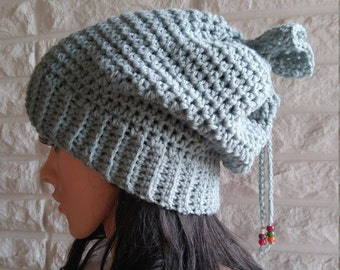 Instant Download Crochet Pattern - Crochet Hat Pattern for Oly Slouch Hat - Women's Hat - Women's Accessories - Permission to Sell