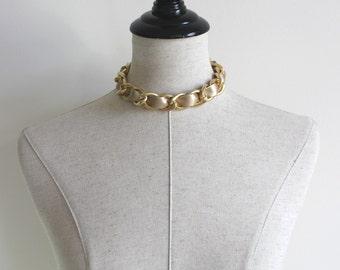 Chain Short Necklace/Choker