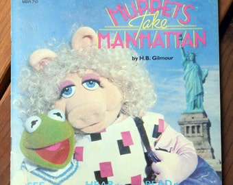 The Muppets Take Manhattan/H.B. Gilmour/See the Pictures, Hear the Story, Read the Book/Talking Storybook/Jim Henson/The Muppets/Muppet Show
