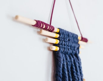 Small Yarn & Dowel Wall Hanging