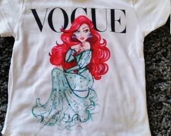 Disney Ariel fashion t-shirt