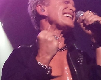 Billy Idol. Front Row & Rebel Yell
