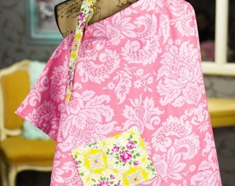Floral Damask Nursing Cover