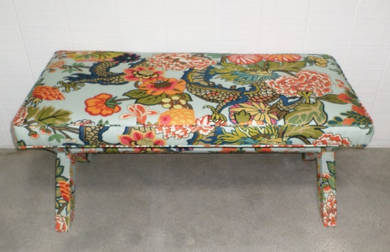 DOUBLE X-Bench - Design Your Own With ANY Fabric