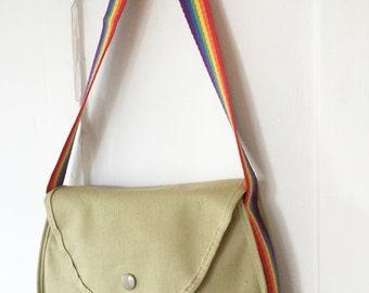 Deadstock Vintage Avon Colorworks Rainbow Strap Sholder Bag