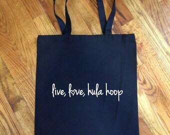 Live love Hula Hoops - Tote Bag