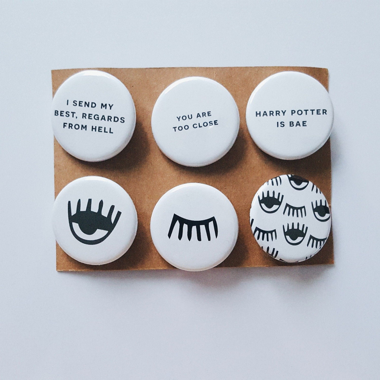 Tumblr Alternative Fashion Unique Evil Eye Quotes Bae Badges