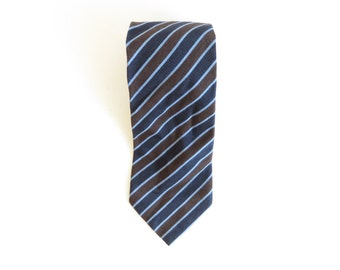 LES COPAINS Tie Necktie Made in Italy  Wool / Cotton / Silk
