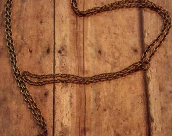 Oz - Skeleton Key Jewelry - Long Necklace - Key Necklace - Ornate Key - Brass Necklace - Boho Jewelry - Hippie Jewelry - Hipster Jewelry