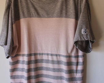 80s PCH t-shirt with ruched shoulders size medium