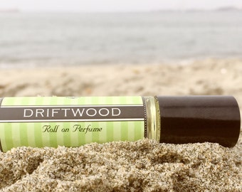 Roll on Perfume || DRIFTWOOD || Birthday Gift for Her || Long lasting perfume || vegan perfume || Gift for Mom
