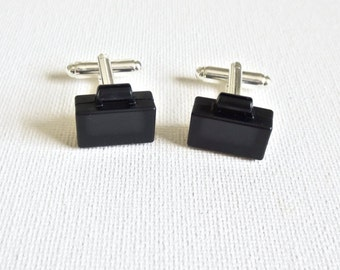 Suitcase Cufflinks Cuff Links LEGO Wedding Groom Groomsmen Gift
