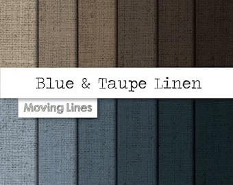 50% SALE!  Linen Digital Paper, Burlap Texture Background, Product Photography Backdrop, Textile Taupe Blue Gray Wallpaper 12x12inches