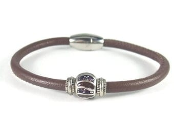 Brown Leather Wrap Bracelet, Womens Leather Bracelet, Womens Leather Jewelry, Brown Leather Bracelet, Leather Wrap Bracelet, Brown Leather