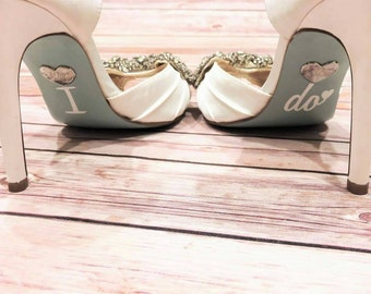 Wedding Shoe Decals / I Do Shoe Decals