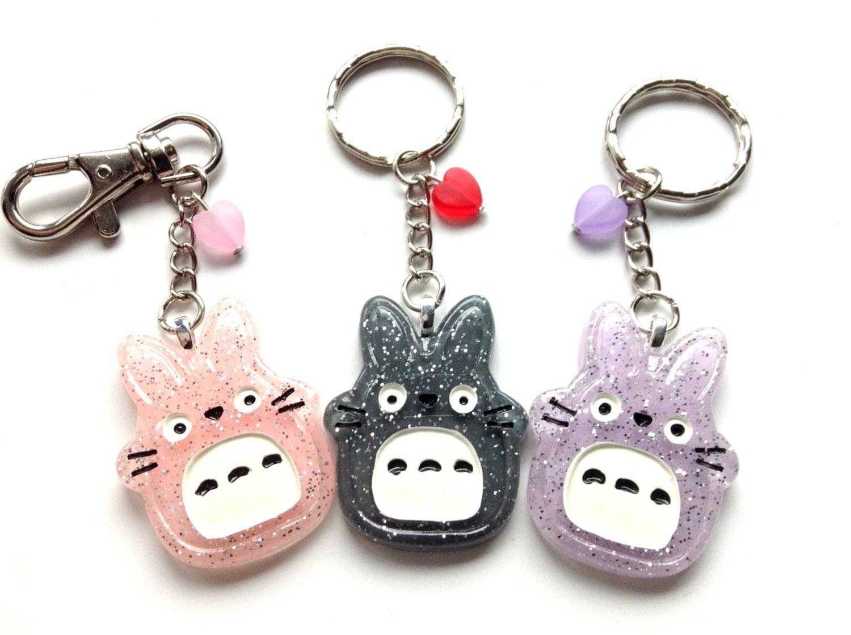 My Neighbor Totoro Keychain Studio Ghibli Totoro Kawaii Bag