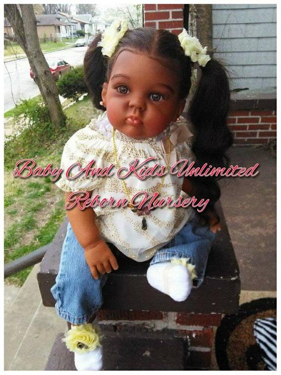 Custom Reborn Toddler Baby Made From Cuddles Kitaa Reborn